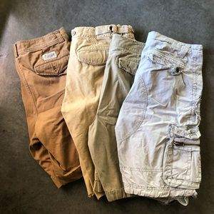 Other - Lot of 8 Pair of Men's Cargo Shorts